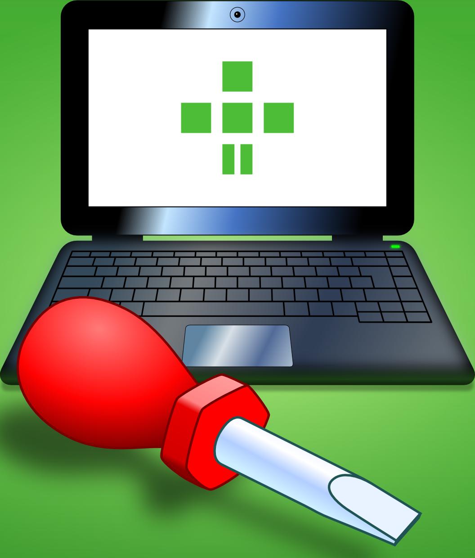 FSFE logó csavarhúzóval illusztráció