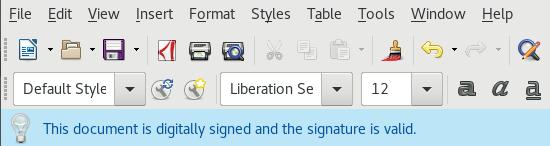 Dokumentum aláírás