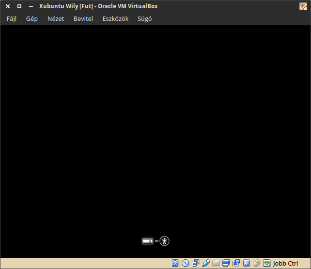 Xubuntu LiveCD start