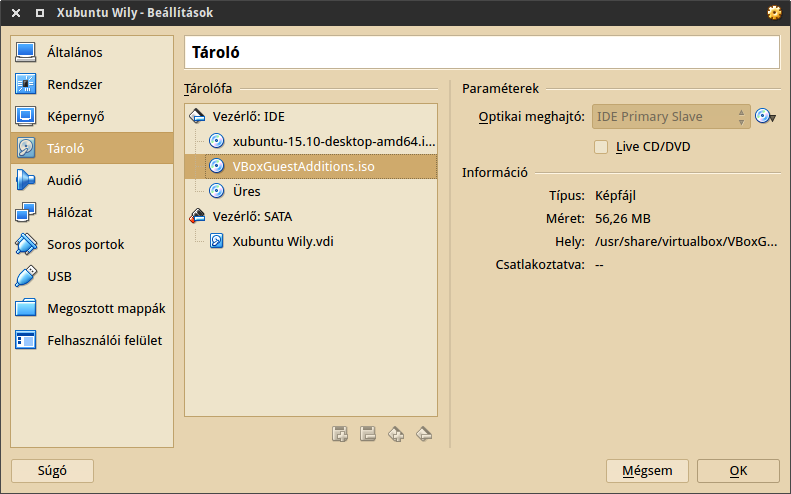 VirtualBox IDE