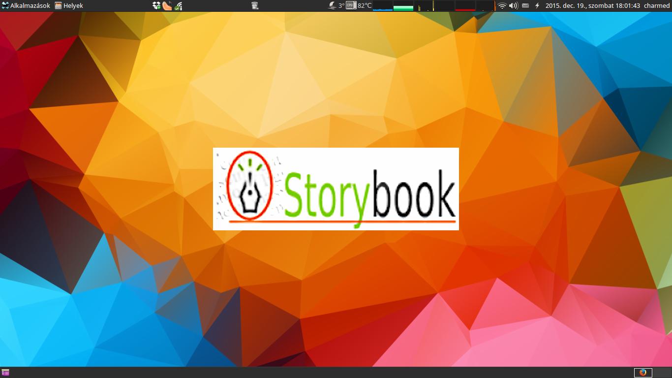 oStorybook indulás