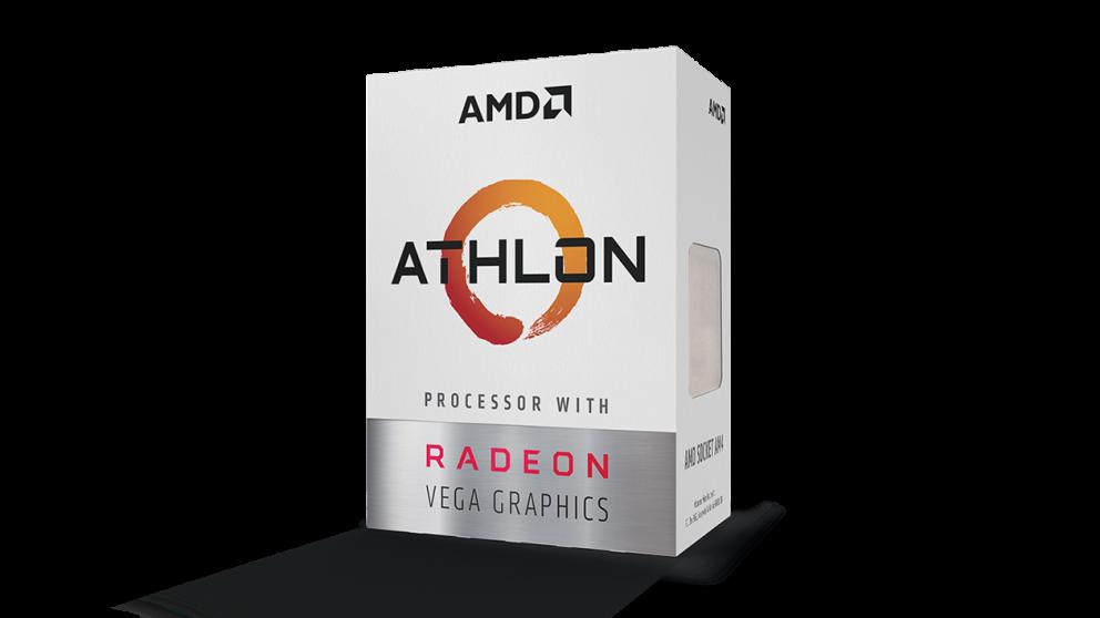 AMD Athlon 200GE doboz