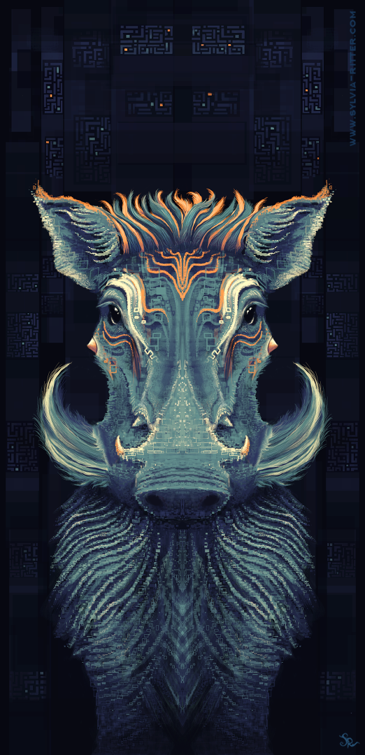 Warty Warthog (4.10) © Sylvia Ritter