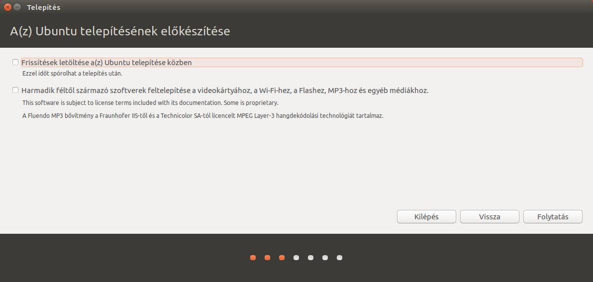 Ubuntu 17.04 - Telepítő előkészítés