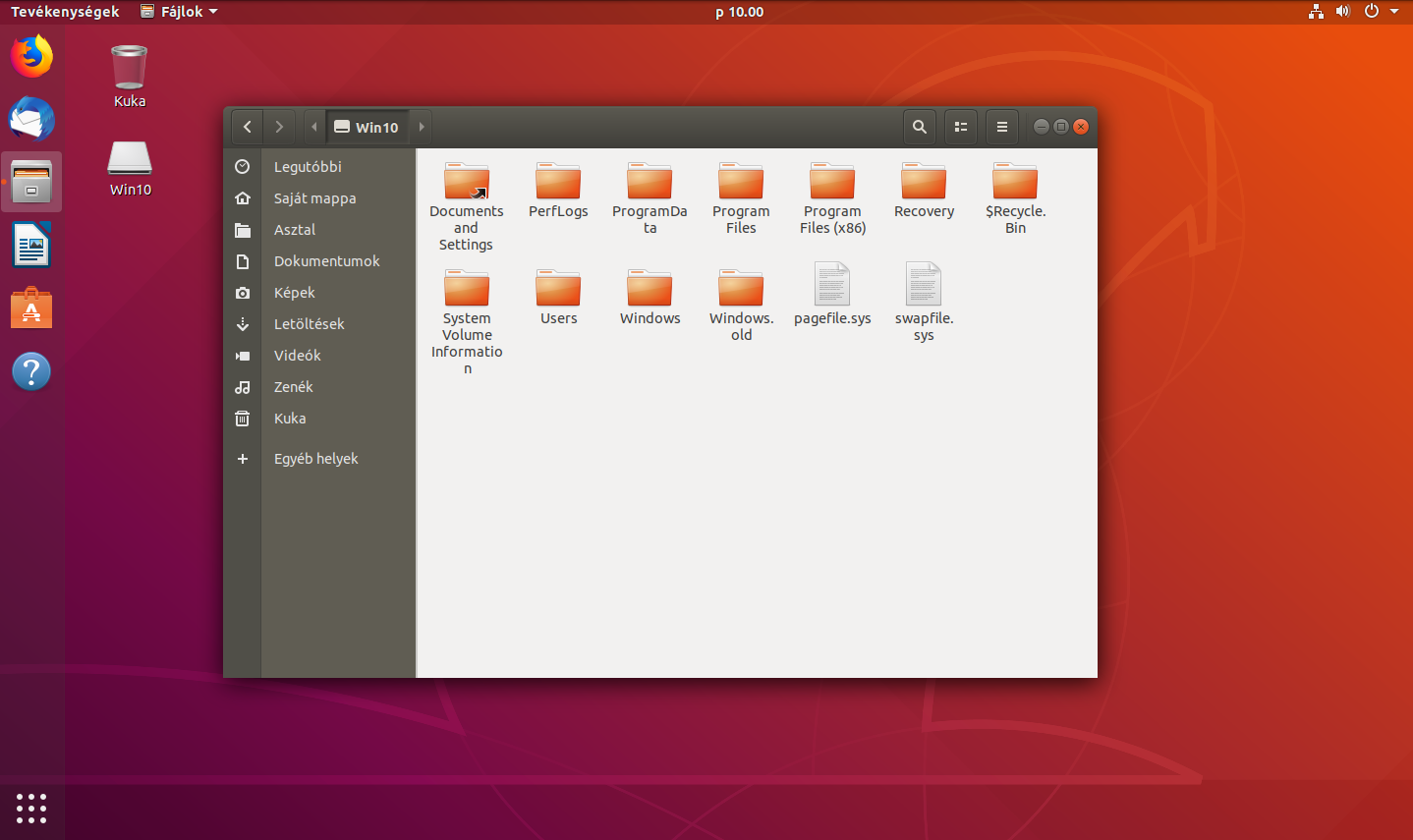 Bitlocker elérése Ubuntu alól