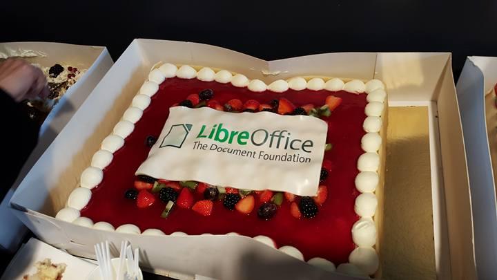 LibreOffice cake