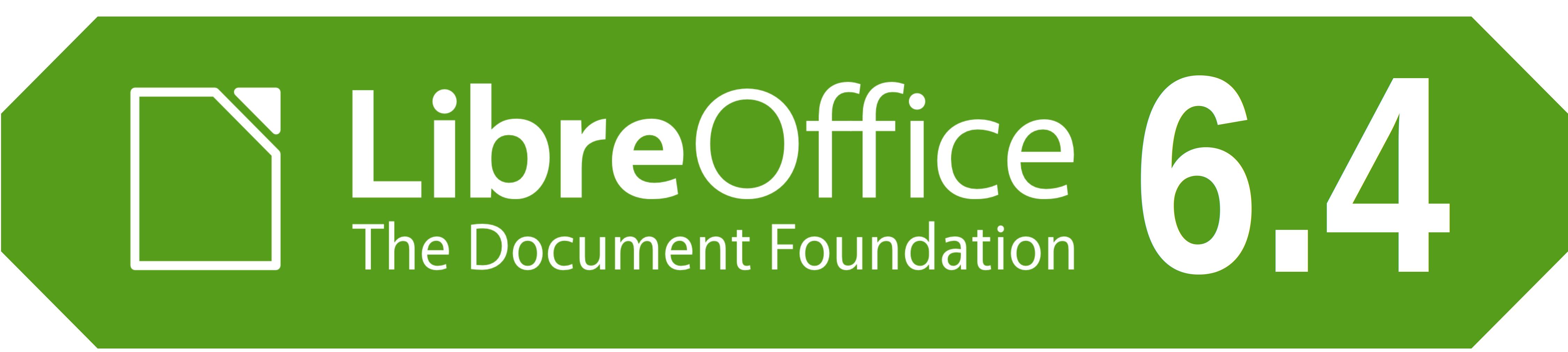 LibreOffice 6.4 logó