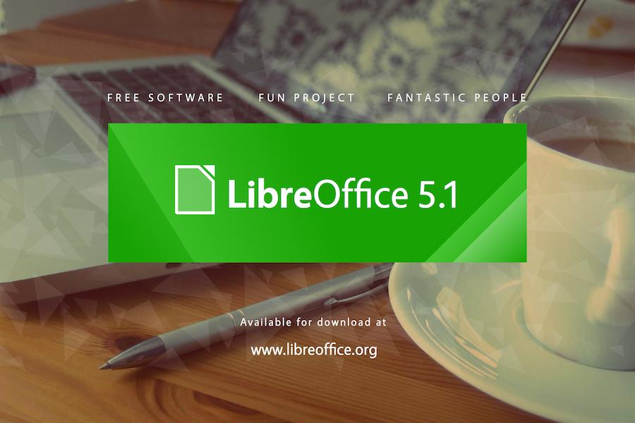 LibreOffice 5.1 háttérkép
