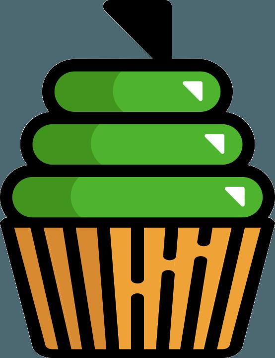 Muffin illusztráció
