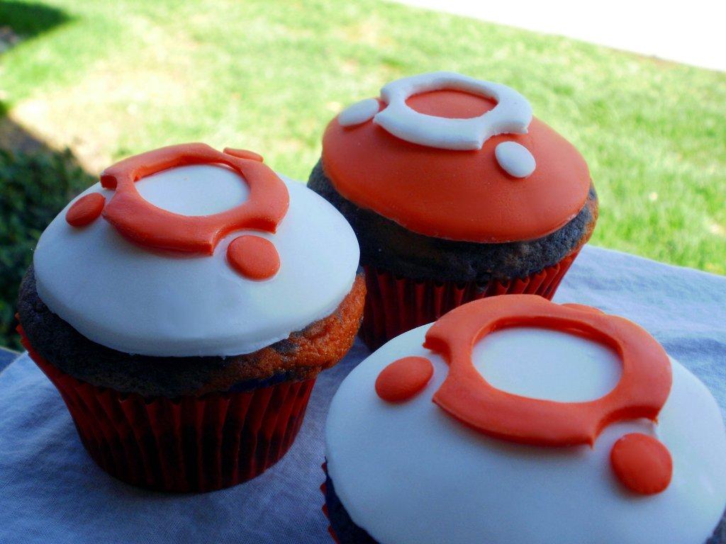 Ubuntus muffinok illusztráció