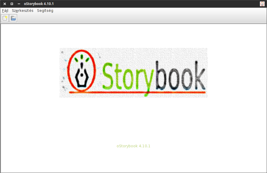 oStorybook magyar kezdőképernyő