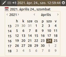 MATE naptár