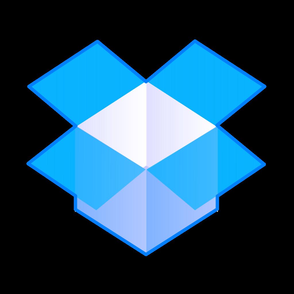 Dropbox logó