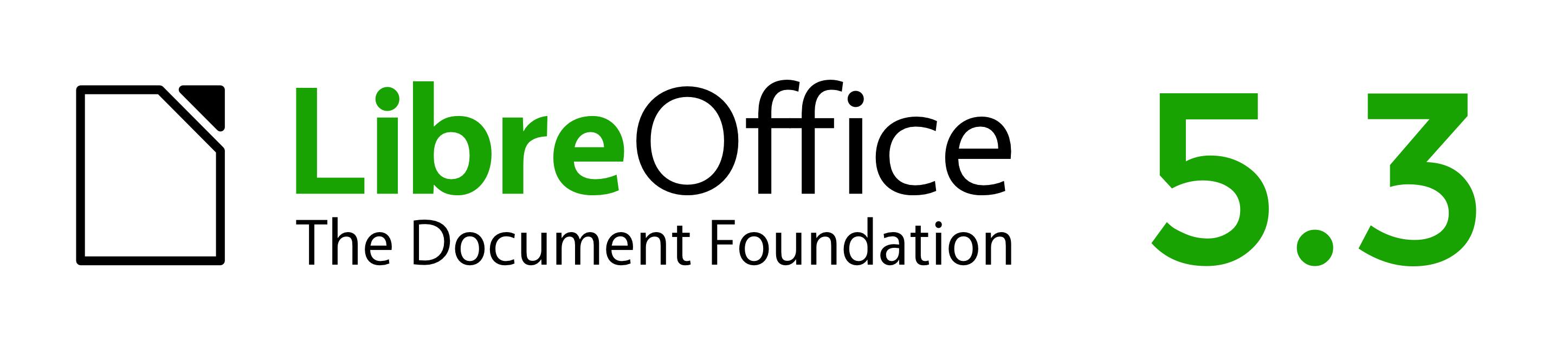 LibreOffice 5.3 logó