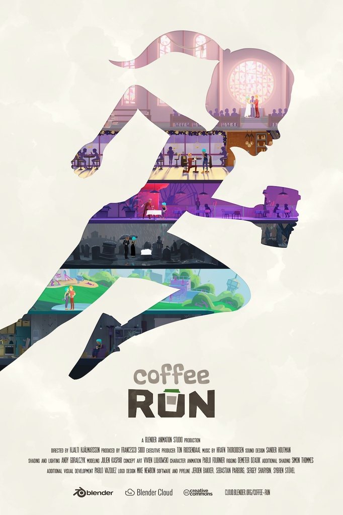 Blender – Coffee Run poster