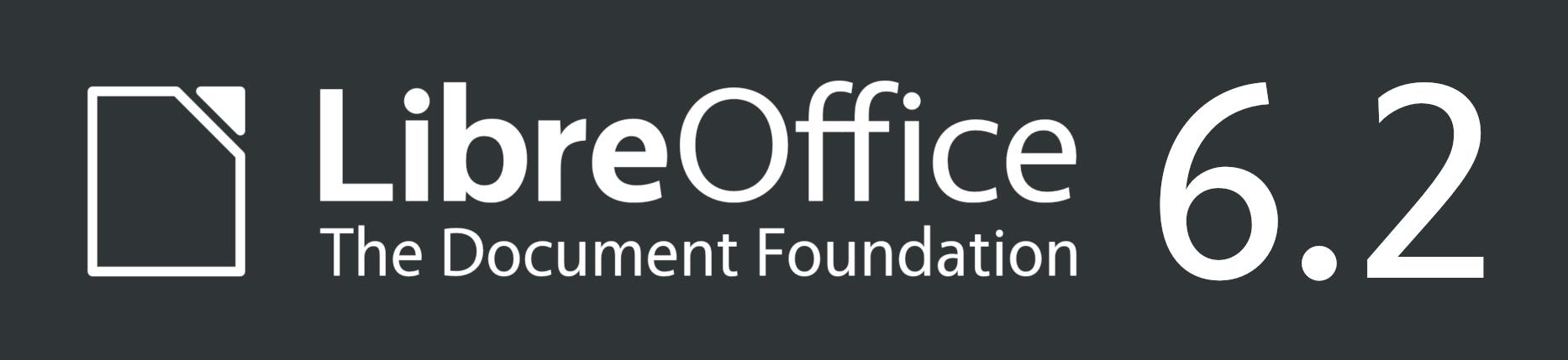 LibreOffice 6.2 logó