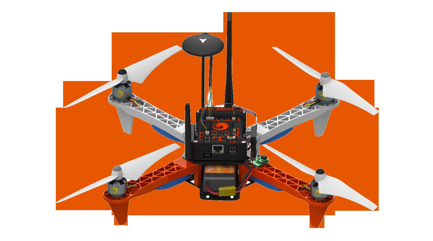 Ubuntu drón