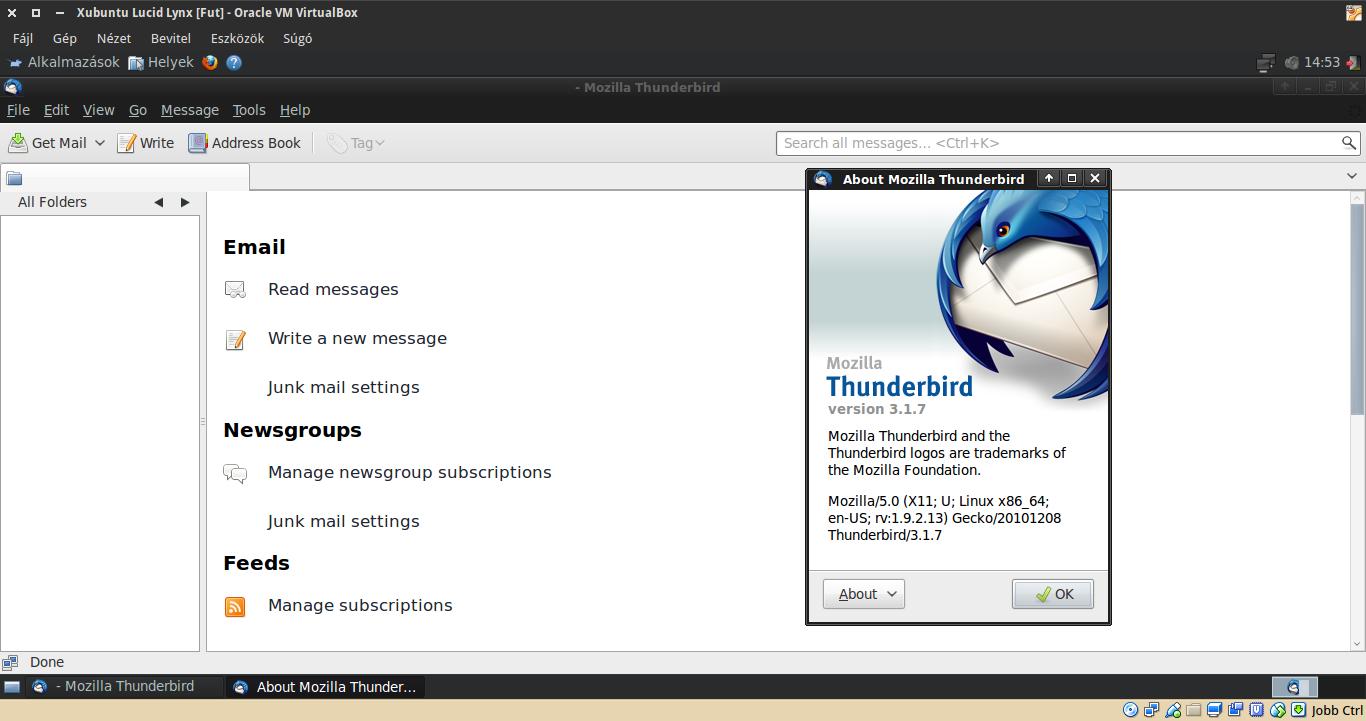 Xubuntu 10.04 Thunderbird