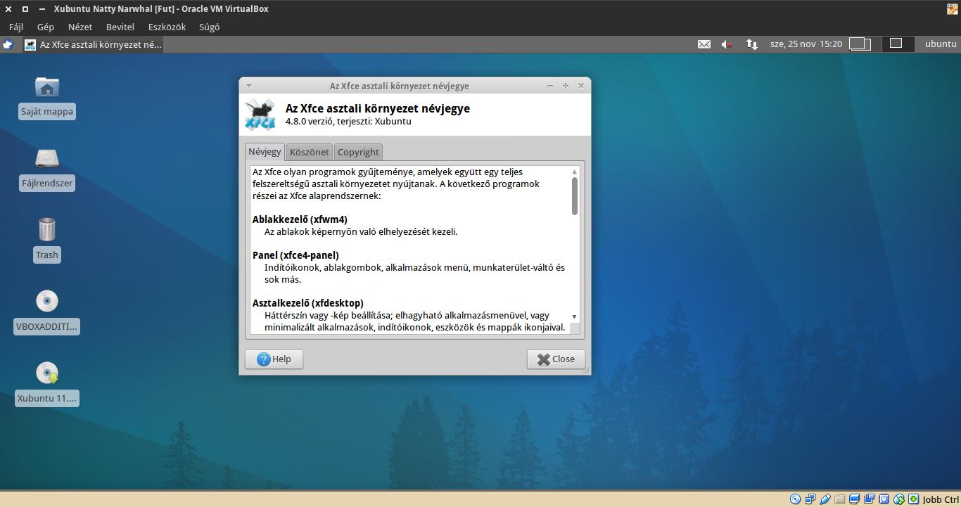 Xubuntu 11.04 névjegy