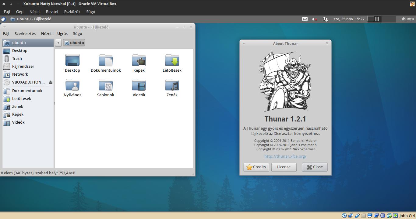 Xubuntu 11.04 Thunar