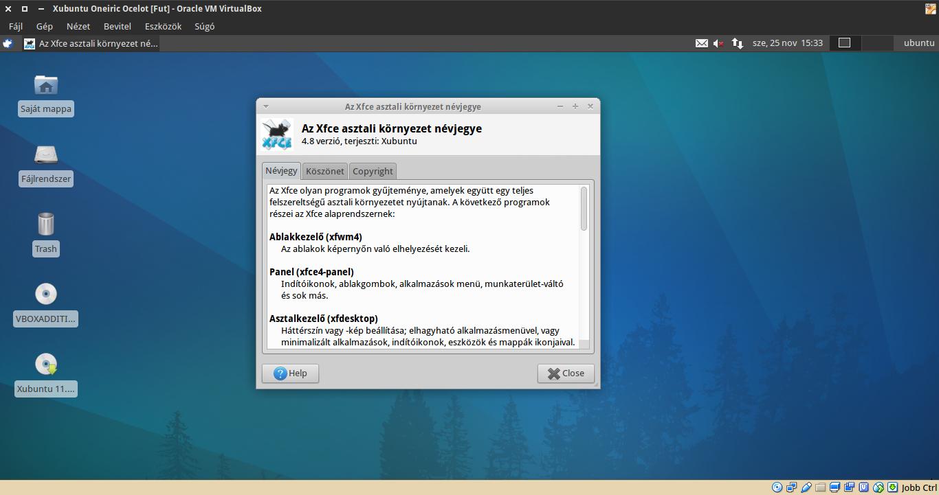 Xubuntu 11.10 névjegy