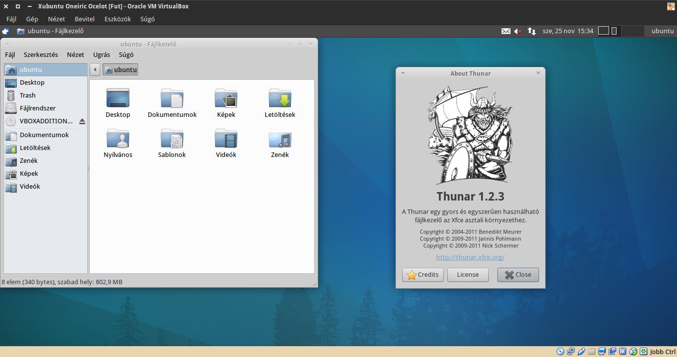Xubuntu 11.10 Thunar