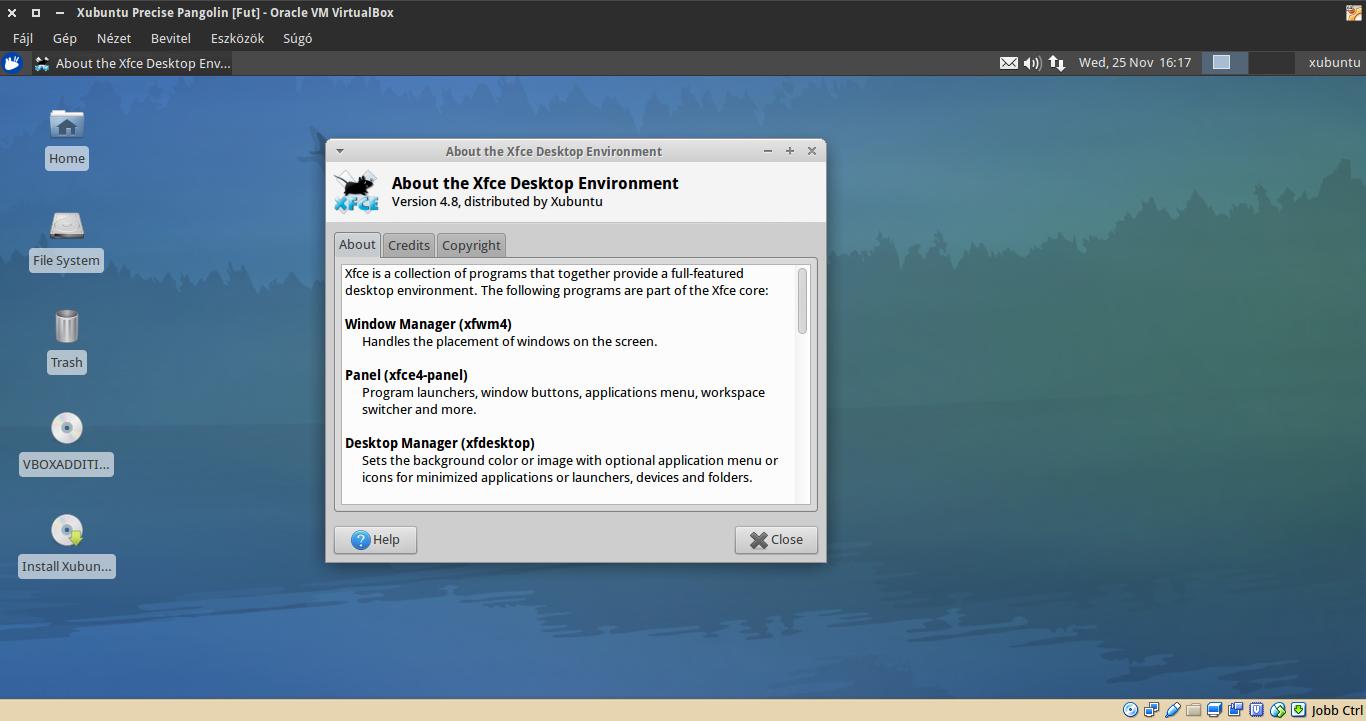 Xubuntu 12.04 névjegy
