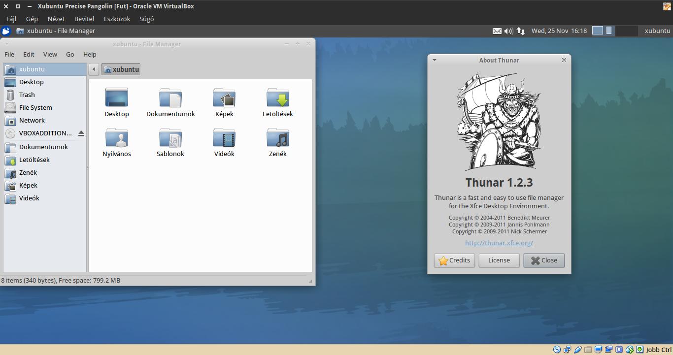Xubuntu 12.04 Thunar