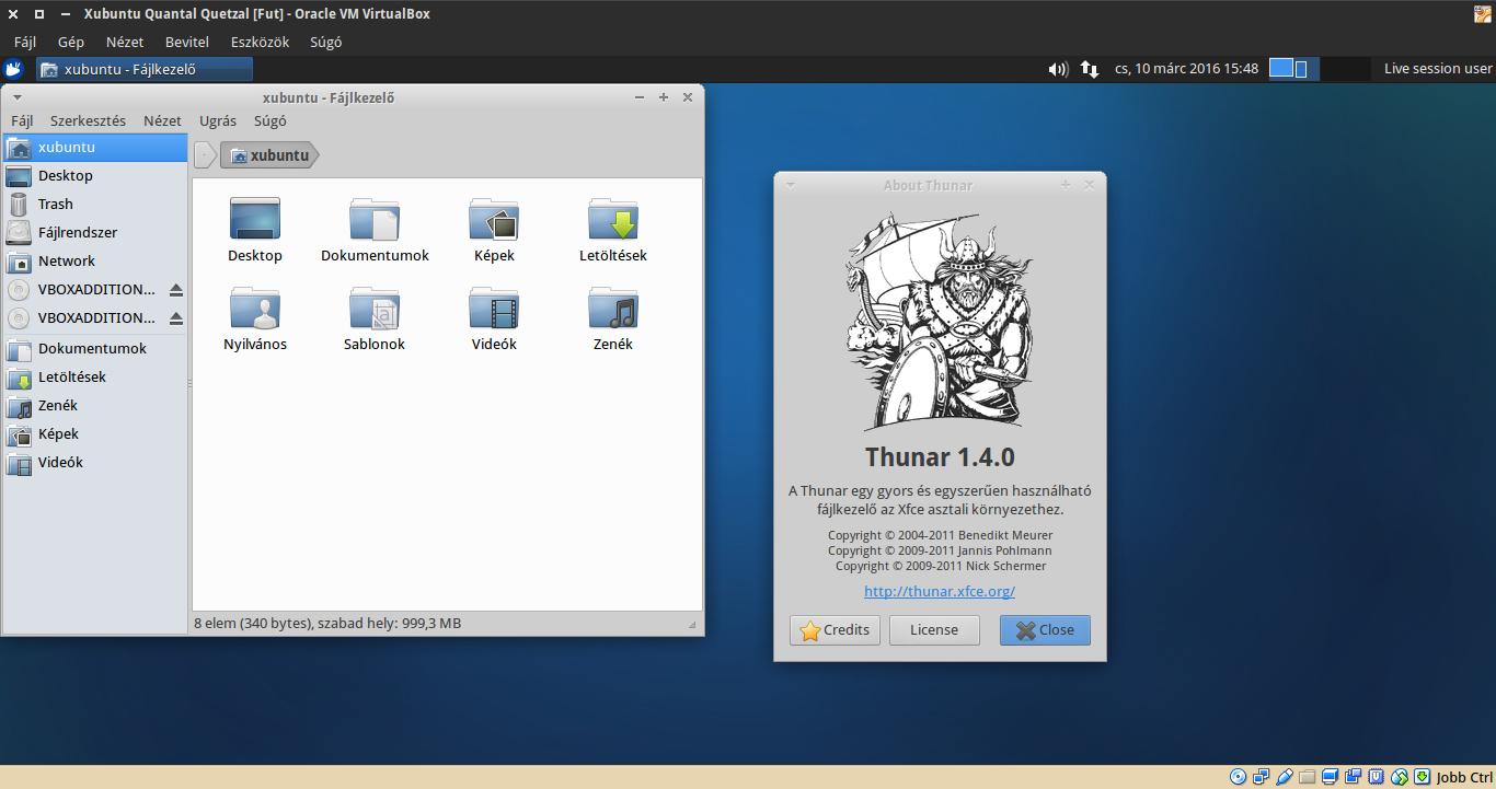Xubuntu 12.10 Thunar