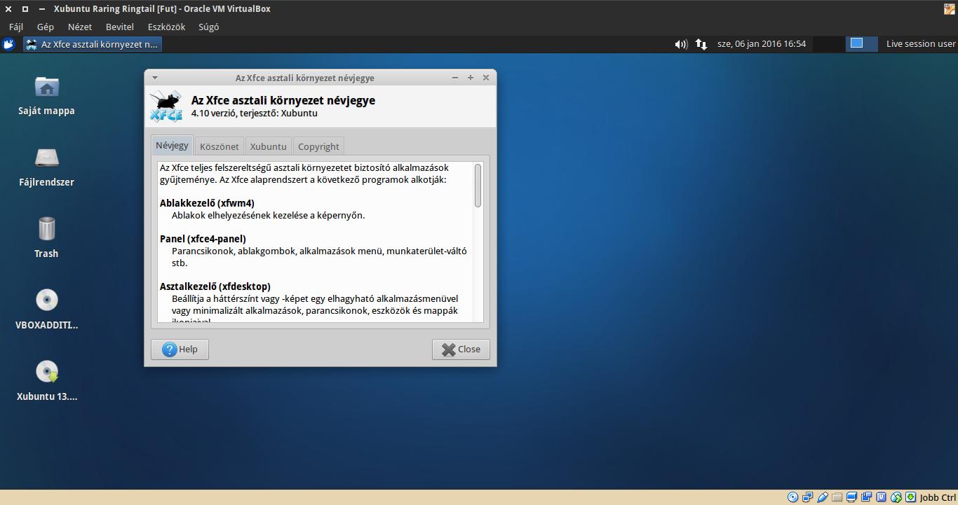 Xubuntu 13.04 névjegy