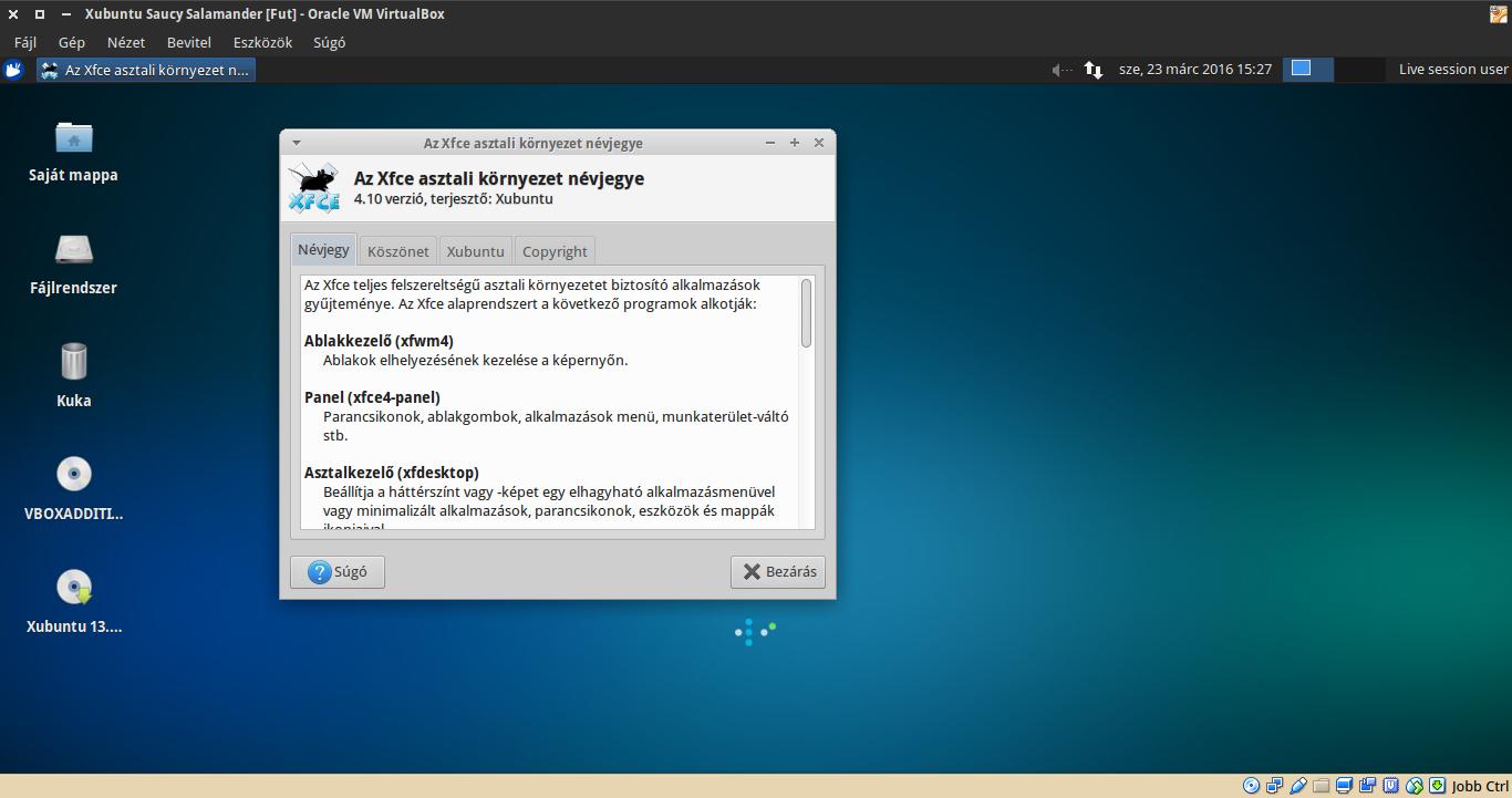 Xubuntu 13.10 névjegy