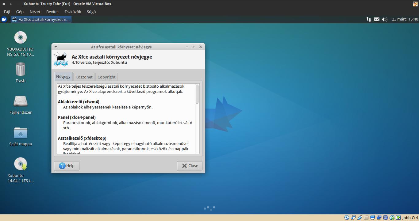 Xubuntu 14.04 névjegy