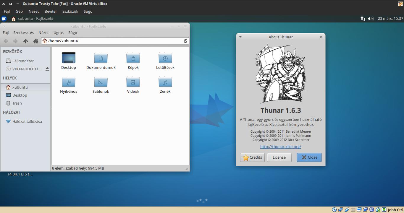Xubuntu 14.04 Thunar