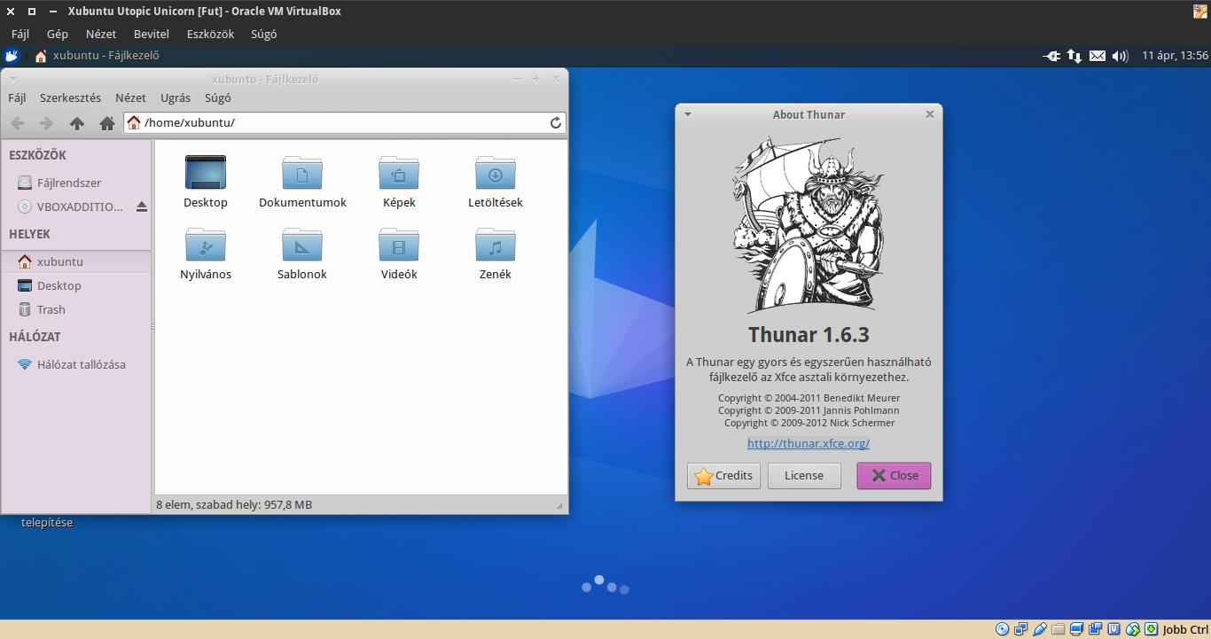 Xubuntu 14.10 Thunar