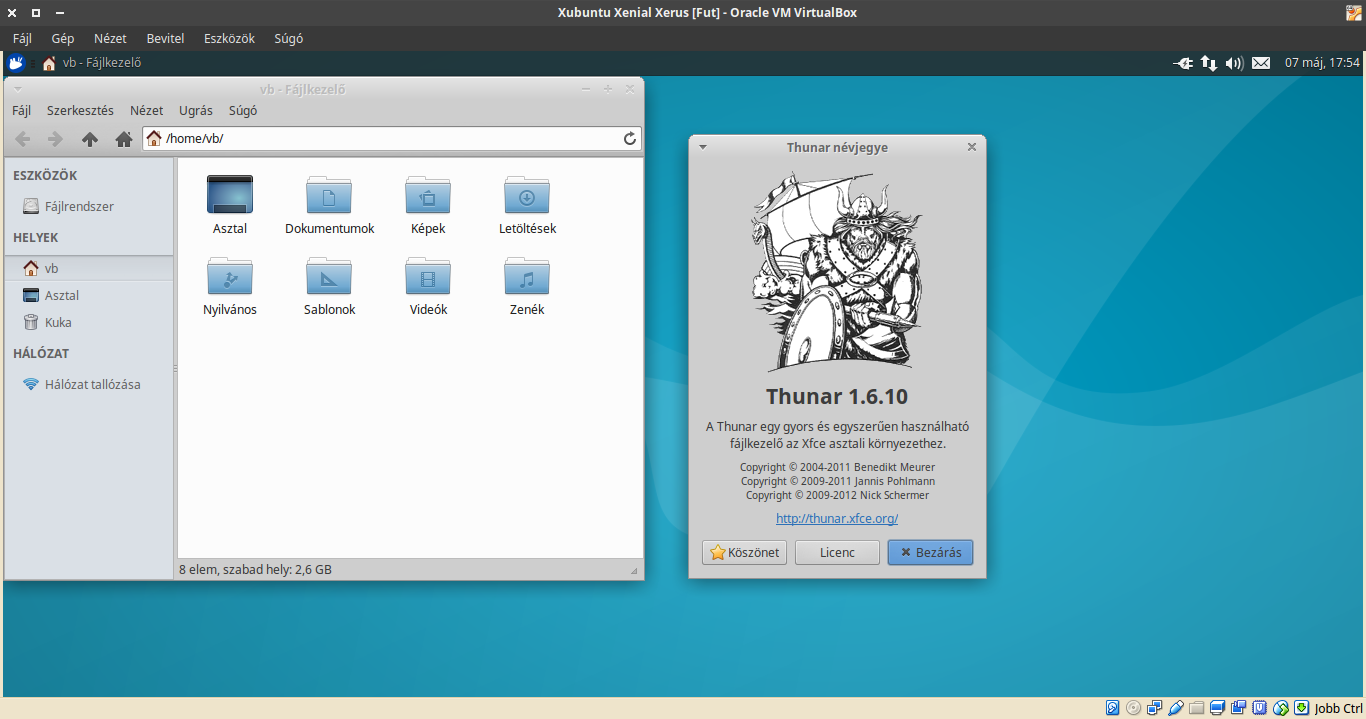 Xubuntu 16.04 Thunar