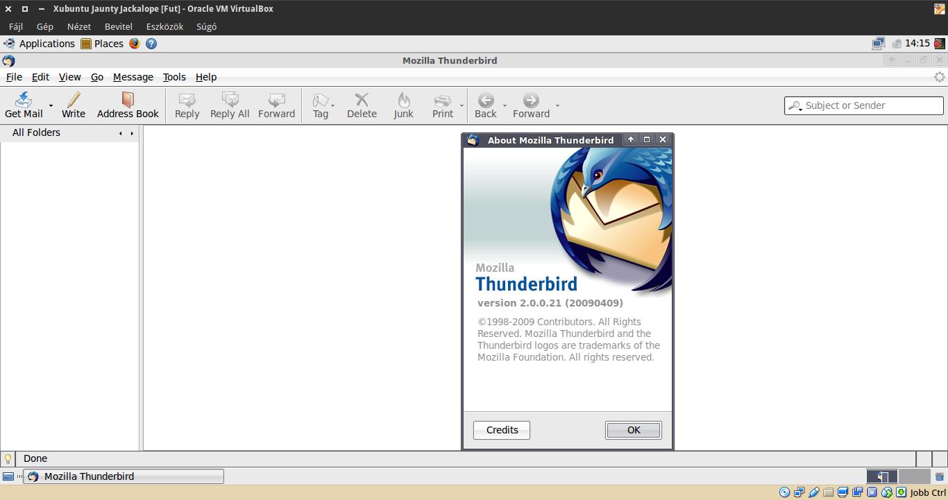 Xubuntu 9.04 Thunderbird
