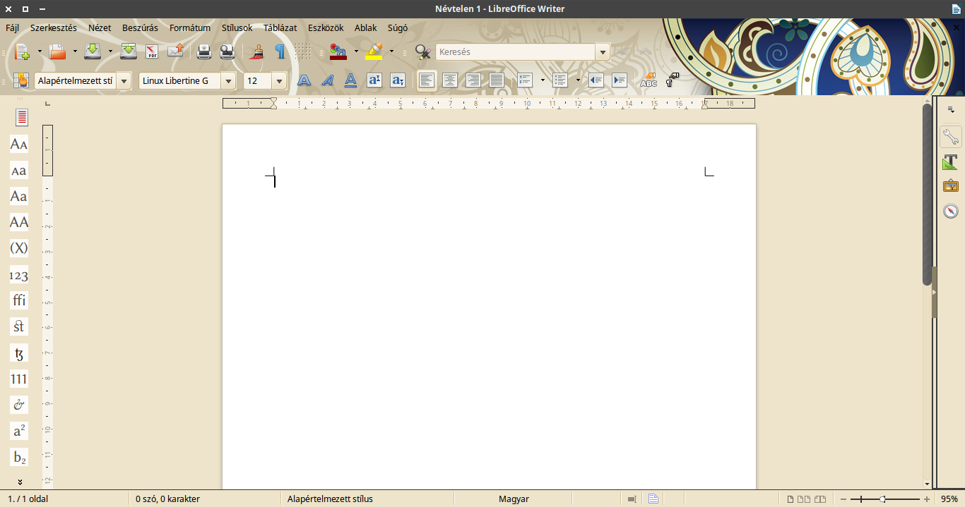 belakott LibreOffice
