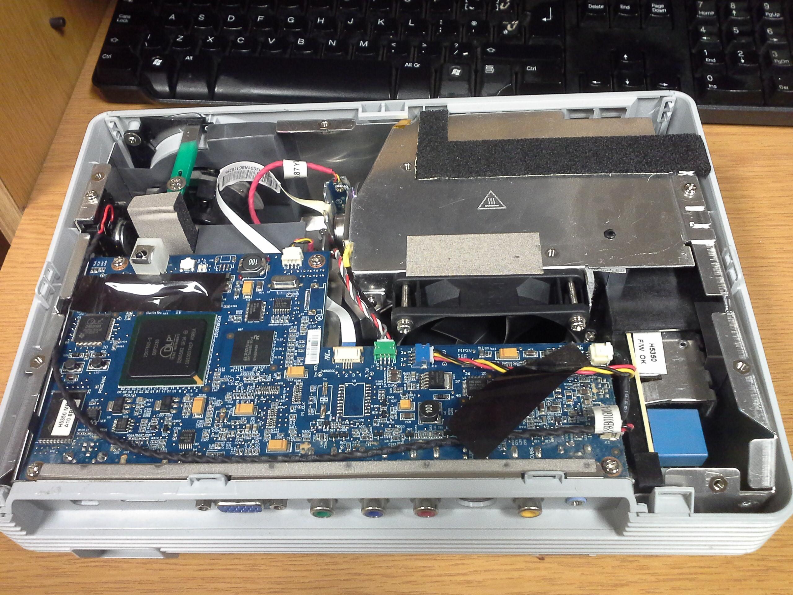 Acer H5350 alaplap