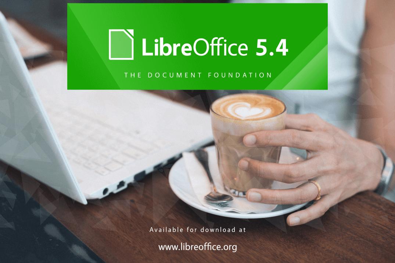 LibreOffice 5.4 háttérkép