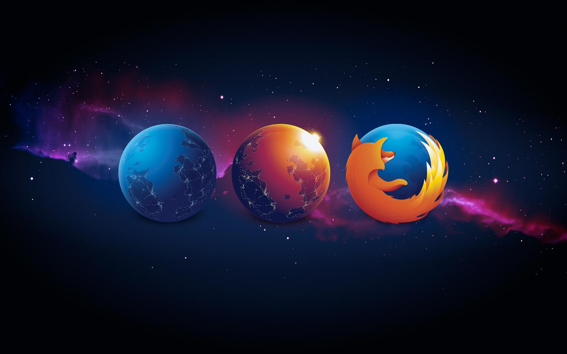 Firefox verziók illusztráció