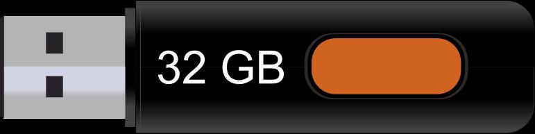 32 GB pendrive illusztráció