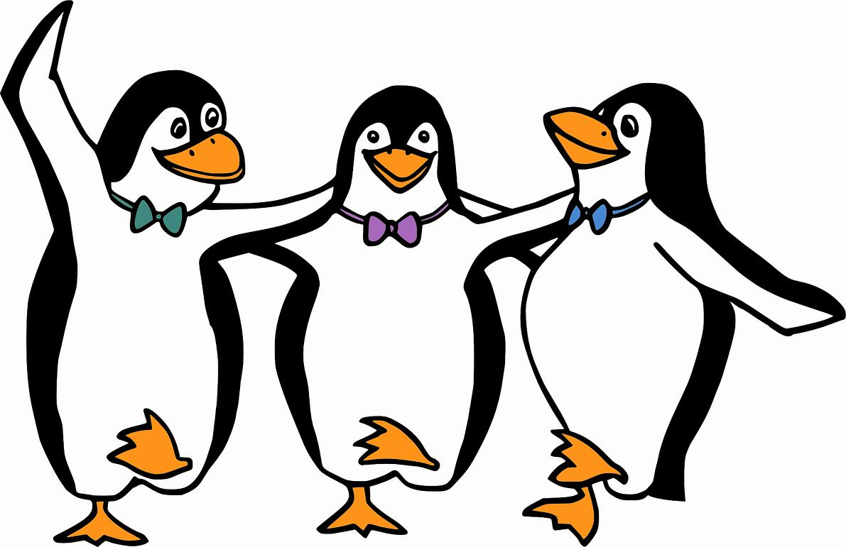 pingvin illusztráció